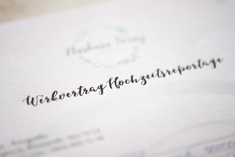 Worauf du bei deiner Hochzeit unbedingt achten musst- Vertrag mit dem Hochzeitsfotografen Barbara Wenz Fotografie