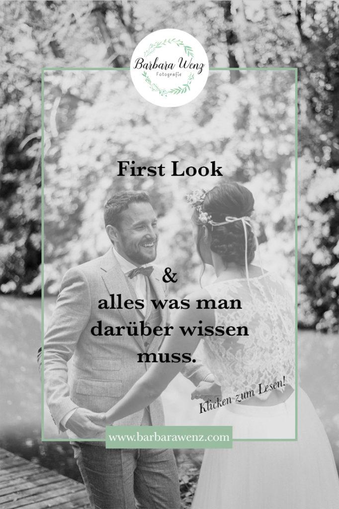 Was ist ein First Look Hochzeit