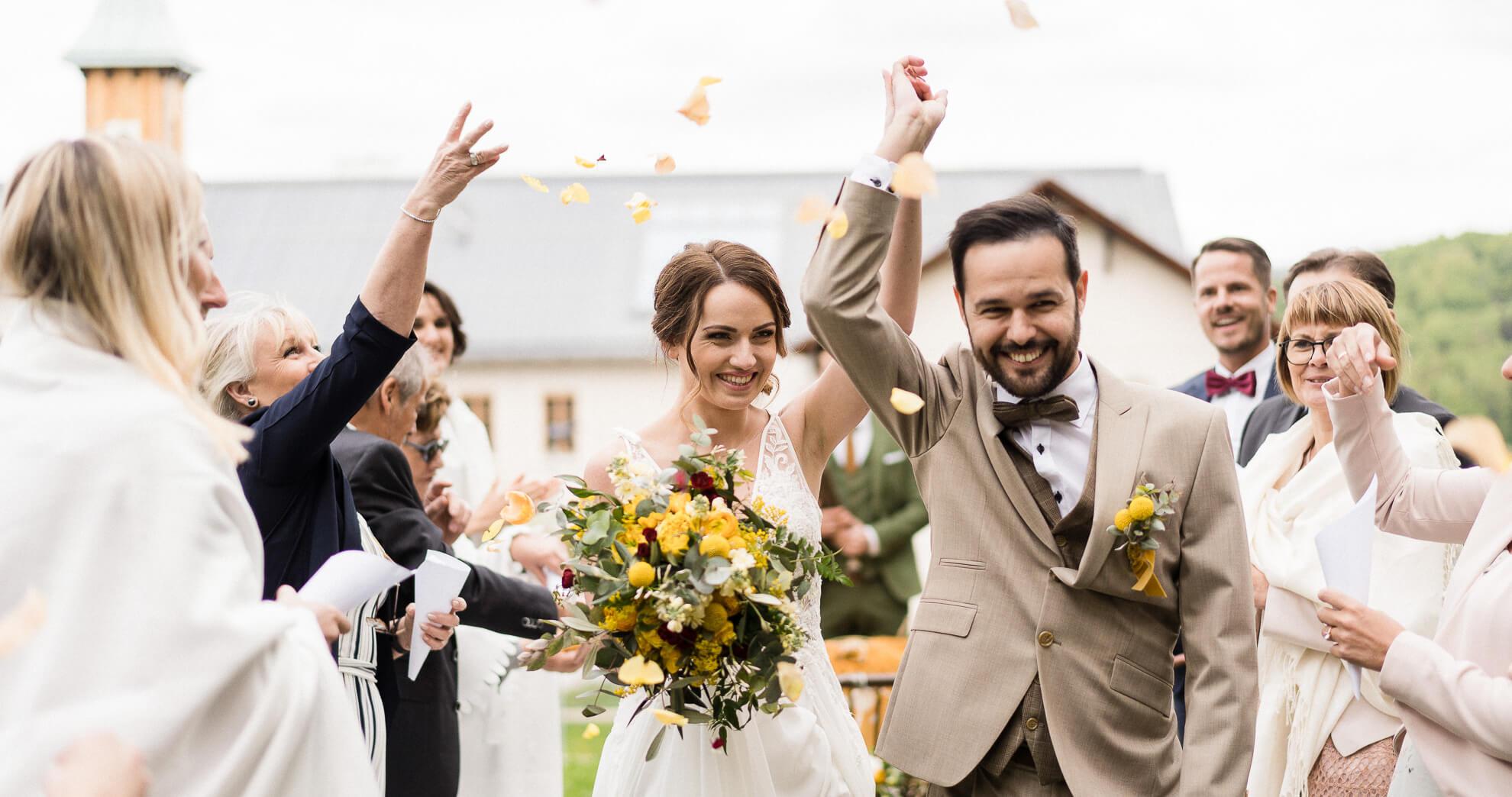 Highlightfilm und Hochzeitsfotografie vom selben Team aus einer Hand