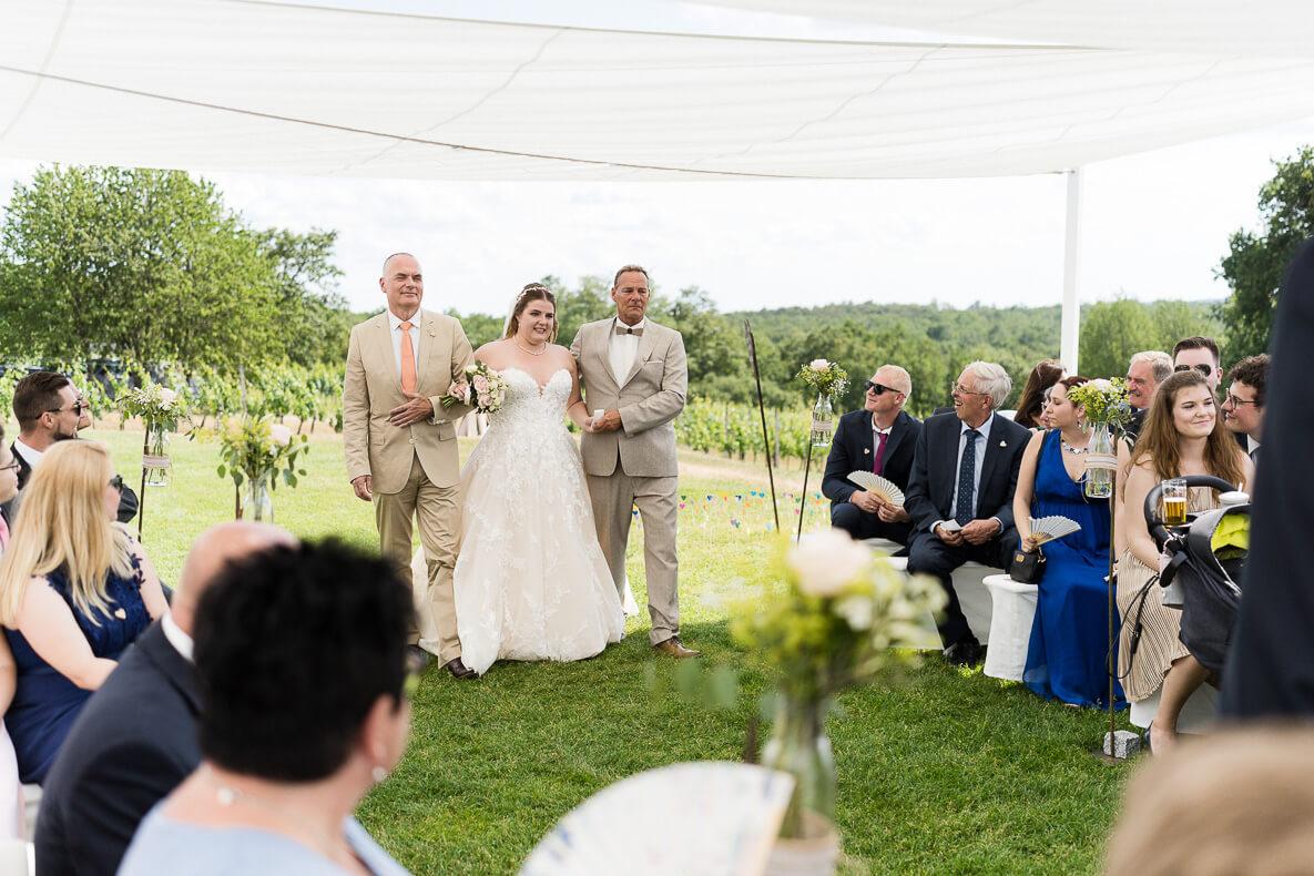 emotionale Momente einer Hochzeit