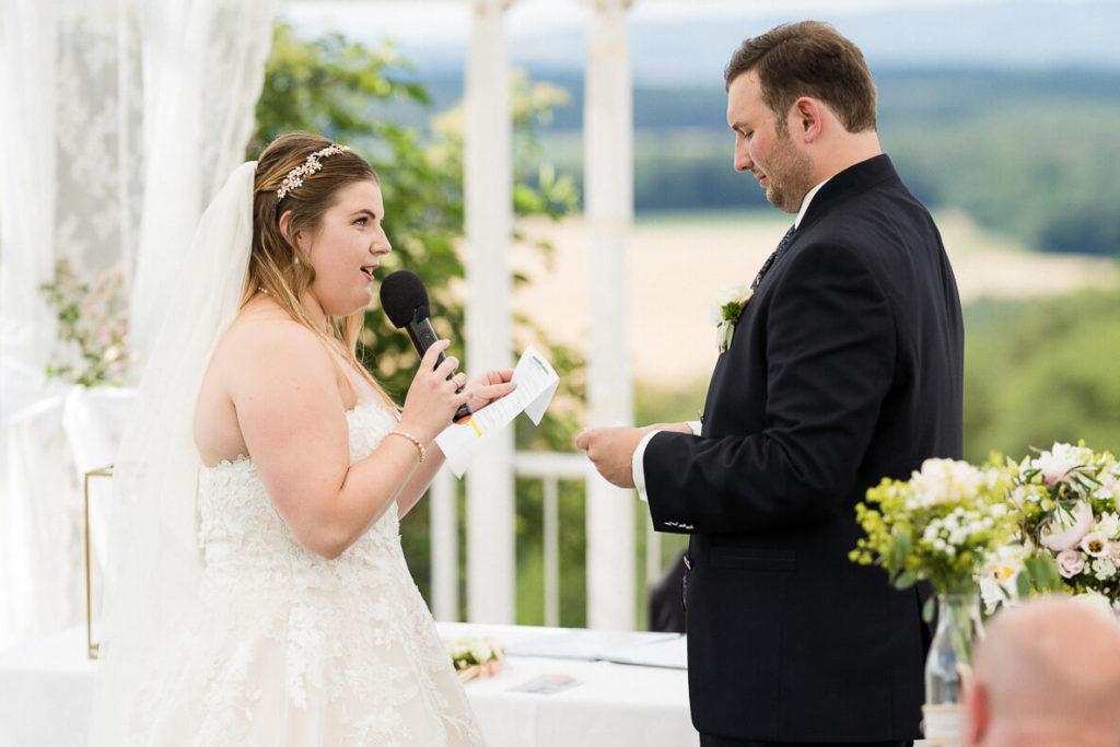 perfekte Hochzeitsrede Fotos